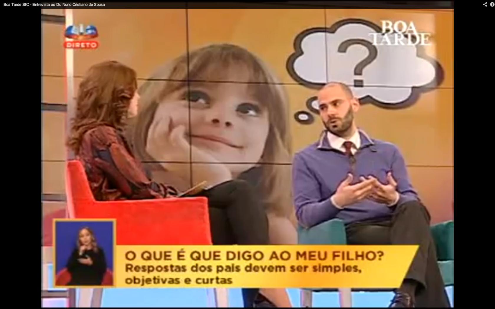 SIC - Boa Tarde: Perguntas Constrangedoras das Crianças