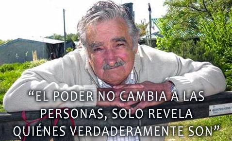 """""""Um grande poder comporta uma grande responsabilidade / Jose Mujica: 'I earn more than I need'"""""""