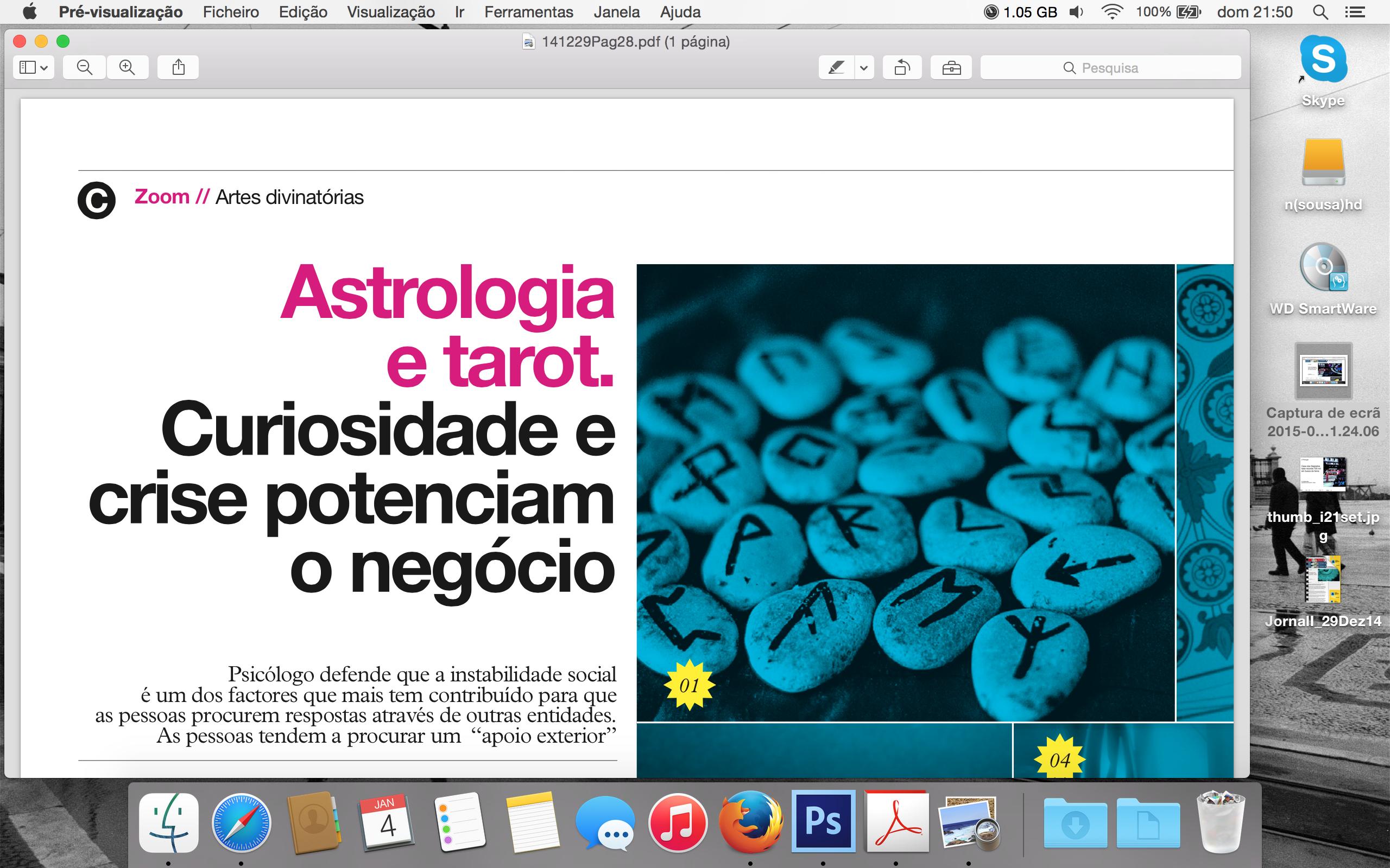Jornal I Astrologia e Tarot